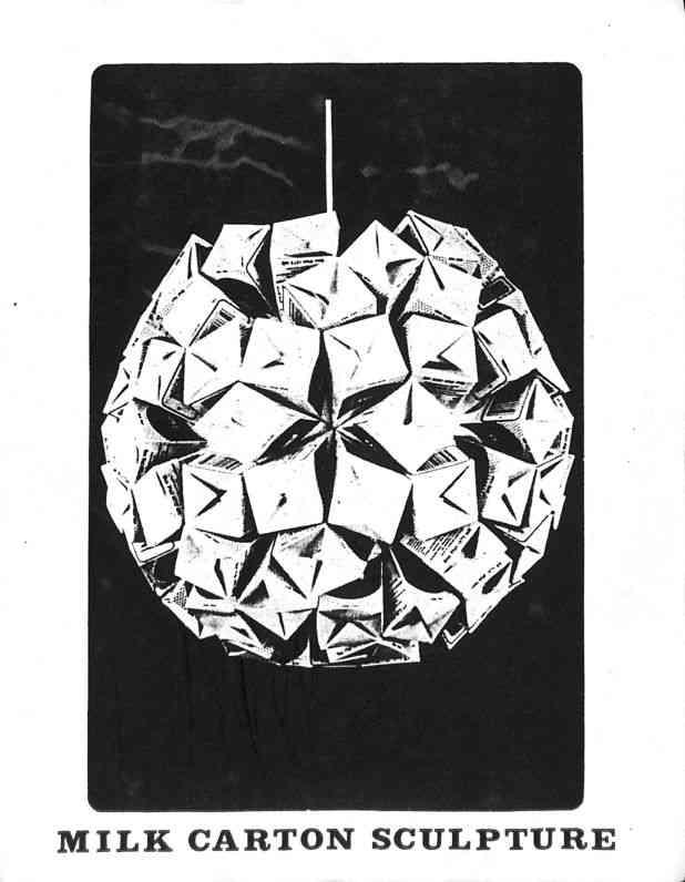 Ruth Asawa Milk Carton Polyhedra Instructions