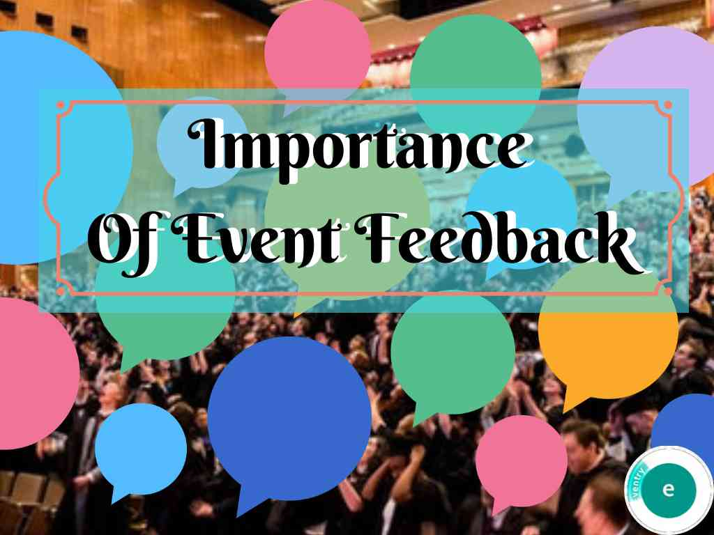 Importance of event feedback