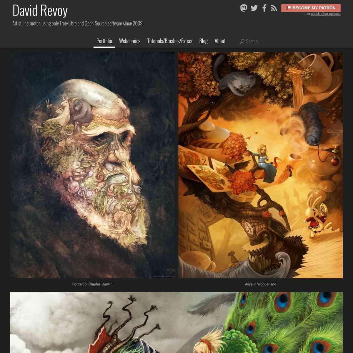Portfolio - David Revoy