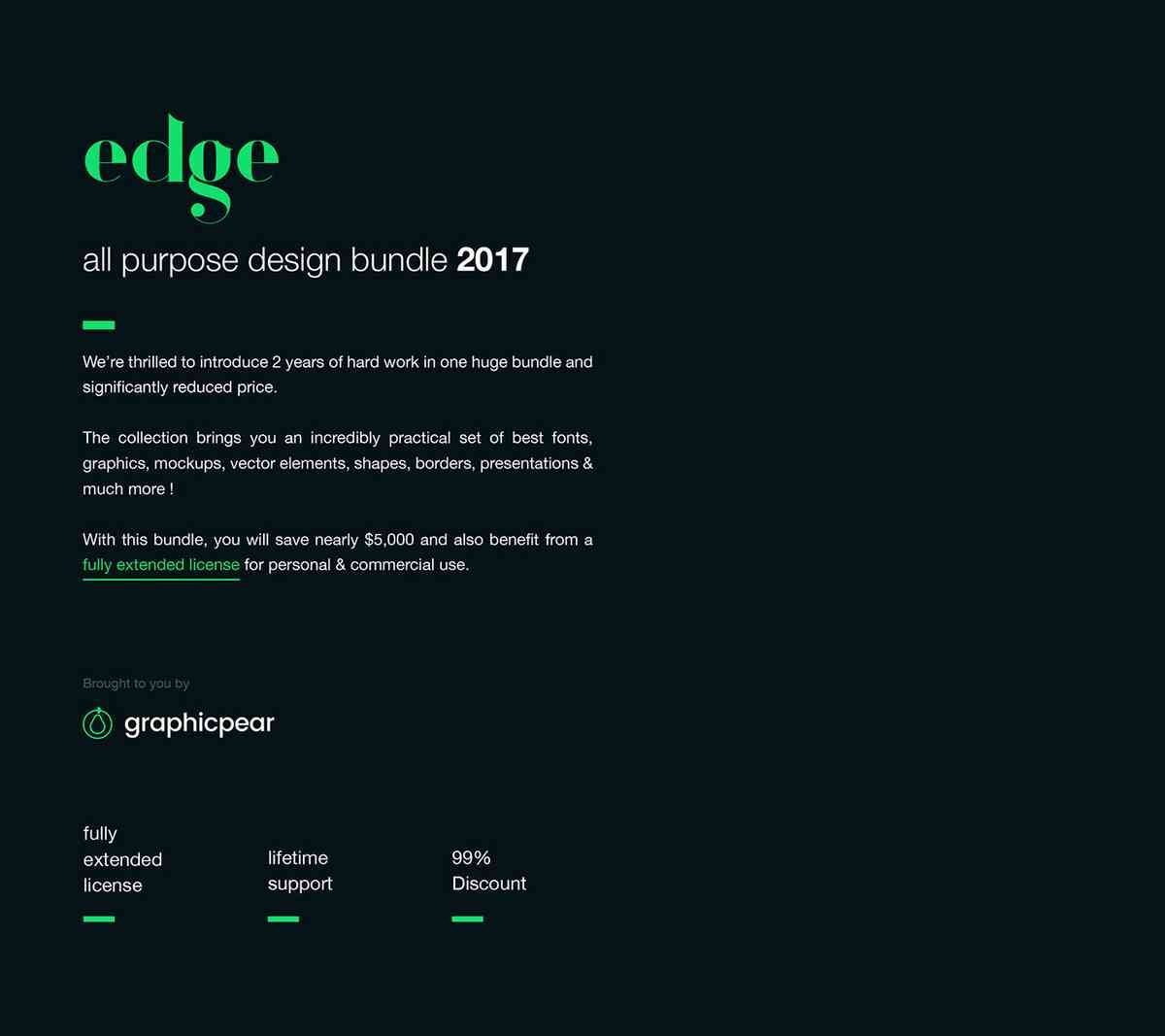 Edge - Ultimate Design Bundle on Behance