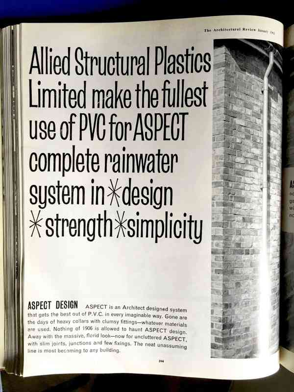 ASPECT ad from Allied Structural Plastics Limited | The Arch… | Flickr