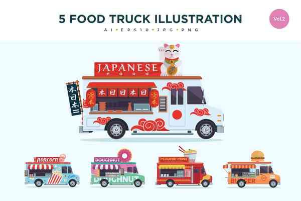 $ Food Trucks