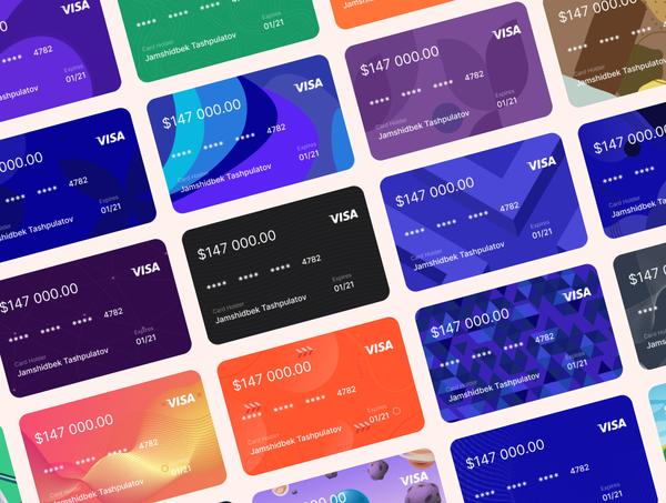 Bank Cards Kit