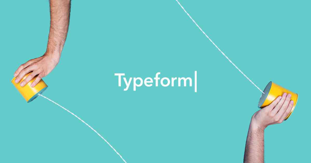 Free & Beautifully Human Online Forms   Typeform