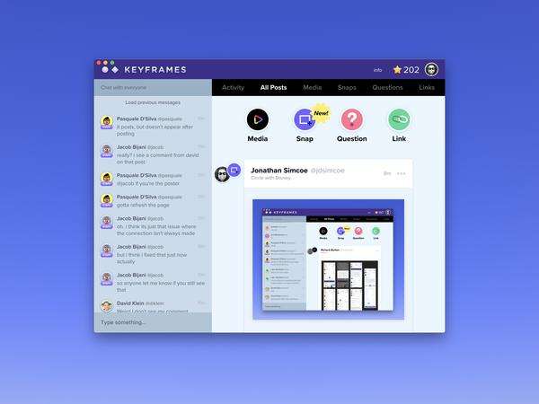 Keyframes App for macOS by Jonathan Simcoe