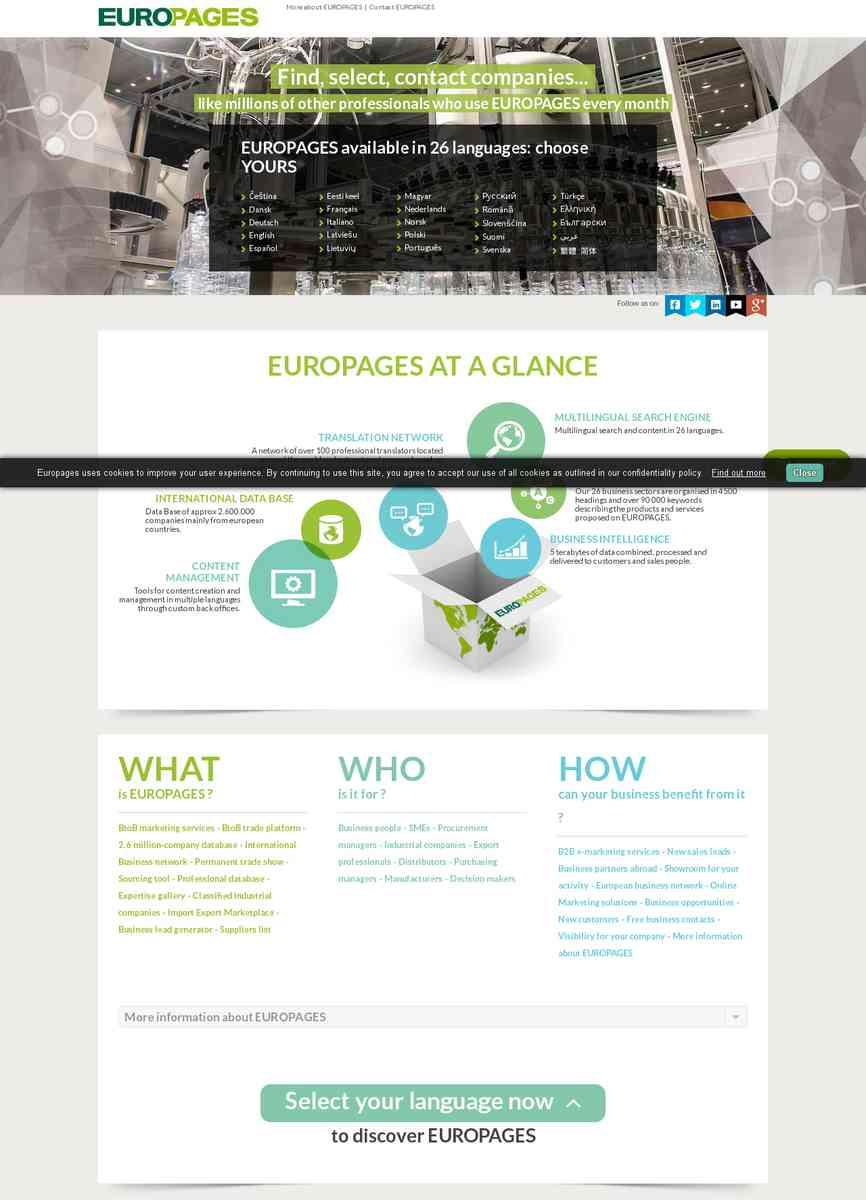 europages (nouvelle fenêtre)