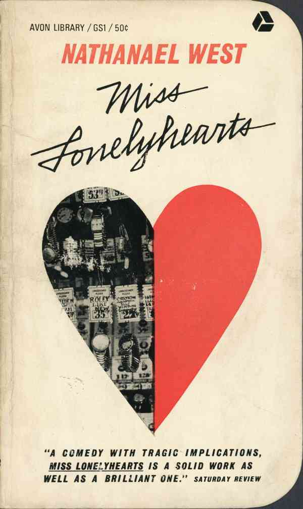 Miss Lonelyhearts, by Nathanael West | Avon Books, 1963. Ill… | Flickr