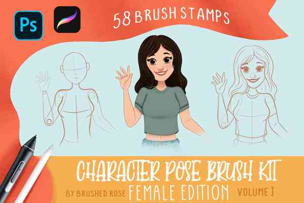Character Pose Brush Kit