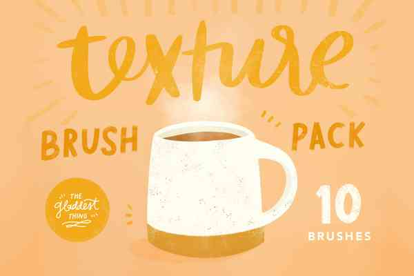 Texture Brush Pack for Procreate