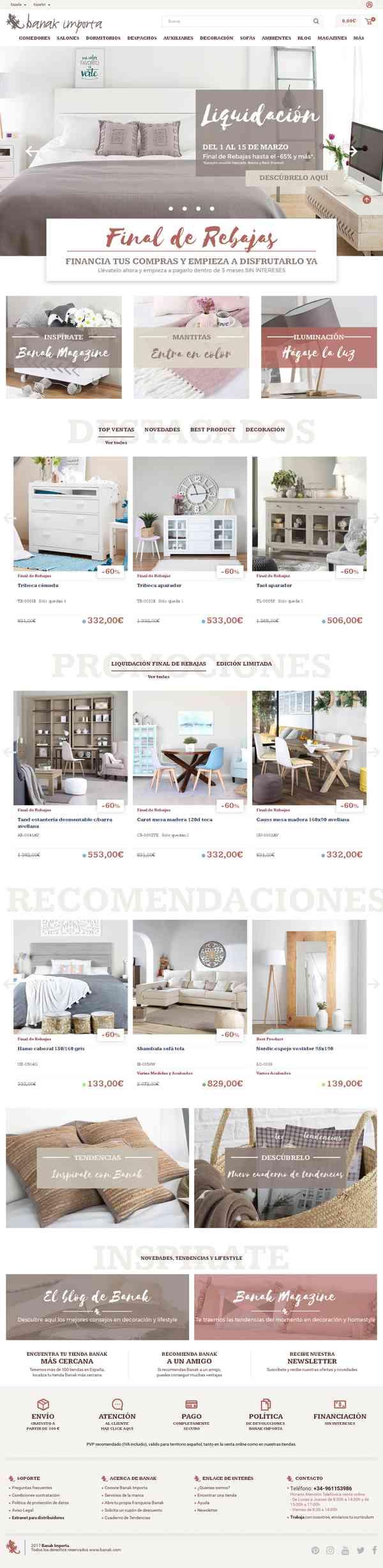 Mueble y decoración de estilo colonial | Banak Importa