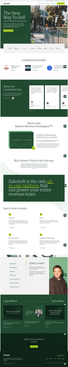 Salesloft: The Leading Sales Engagement Platform