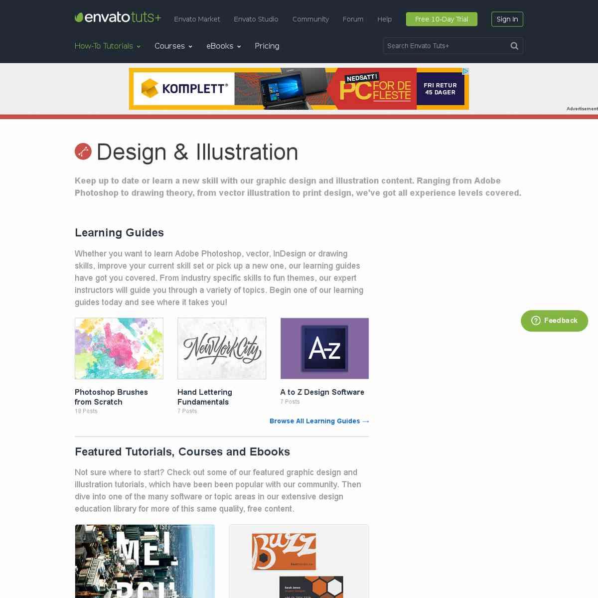 Graphic Design & Illustration Tutorials by Envato Tuts+