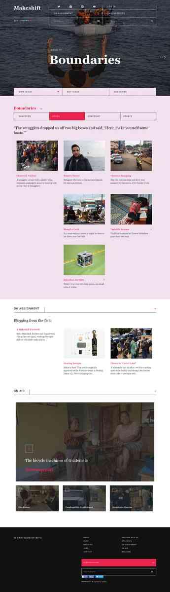 Makeshift—A field guide to hidden creativity