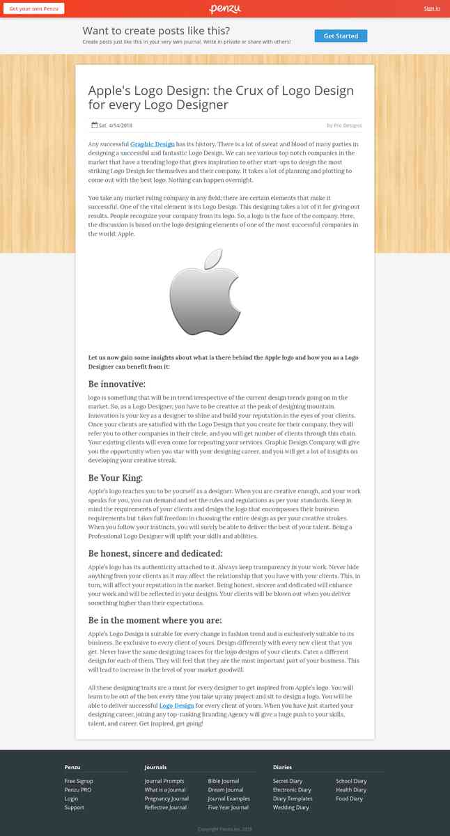 Apple's Logo Design: the Crux of Logo Design for every Logo Designer