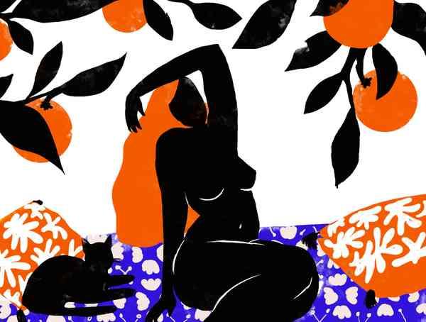 The Orange Woman