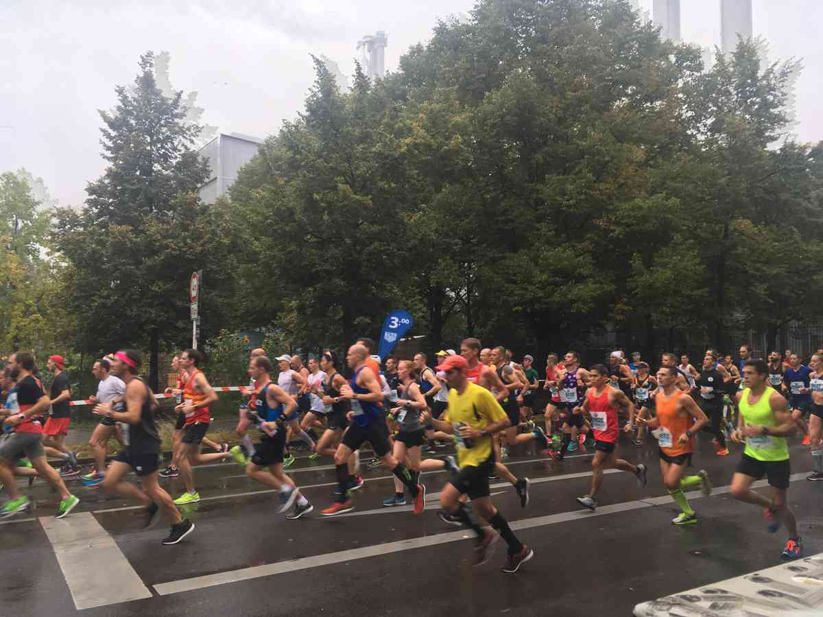Berlin, day two: the marathon
