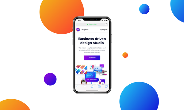 iPhone X Web Navigation Concept – Muzli -Design Inspiration