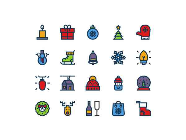 Christmas Icons#3 by Igor Varёnov - Dribbble