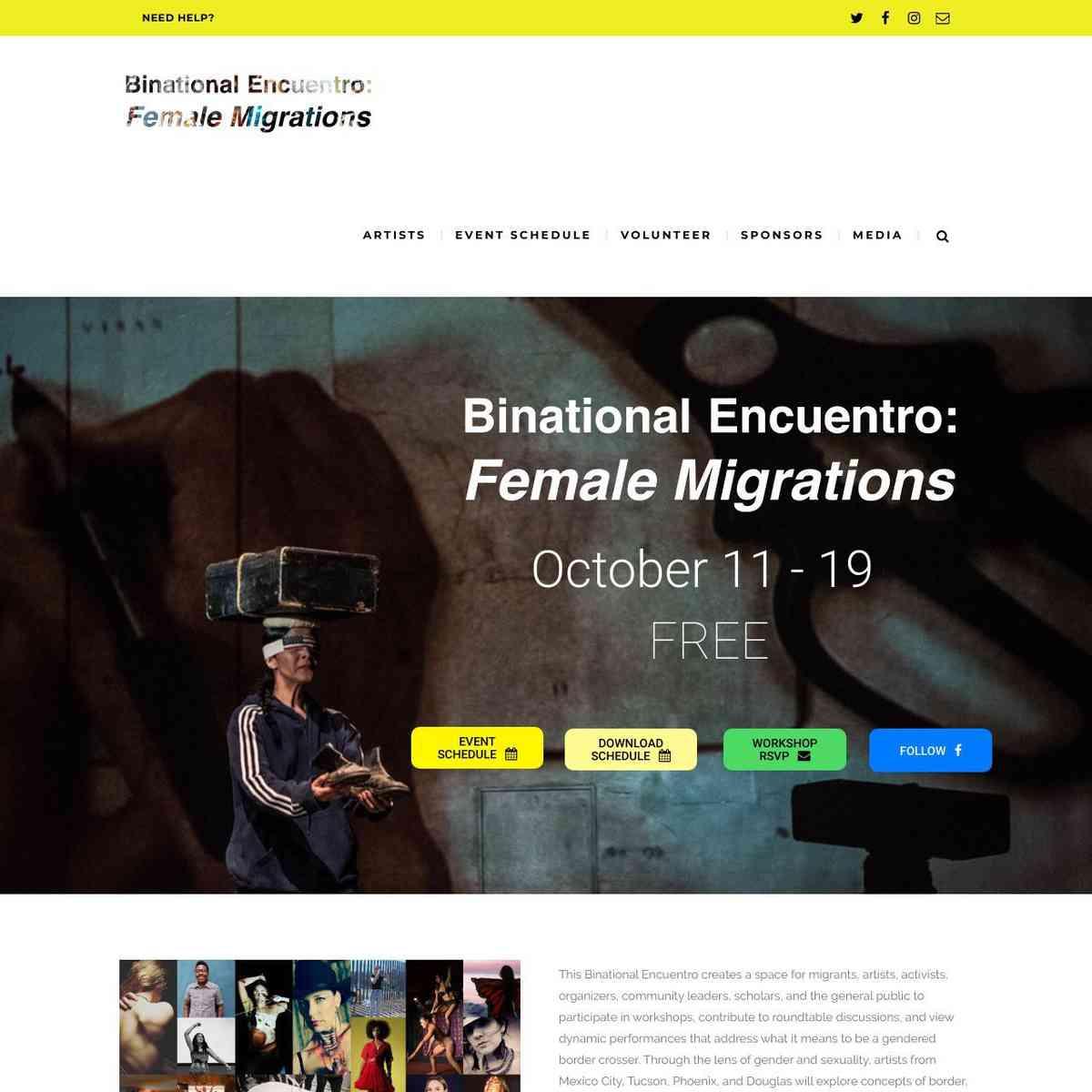 Binational Encuentro Event
