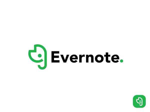 Evernote Rebrand Concept