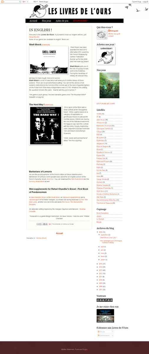 Library - Kobayashi (Livres de l'Ours) (2 games)