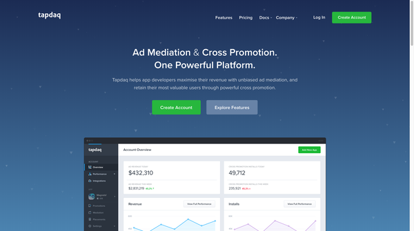 Tapdaq | Ad Mediation and Cross Promotion - One Powerful Platform
