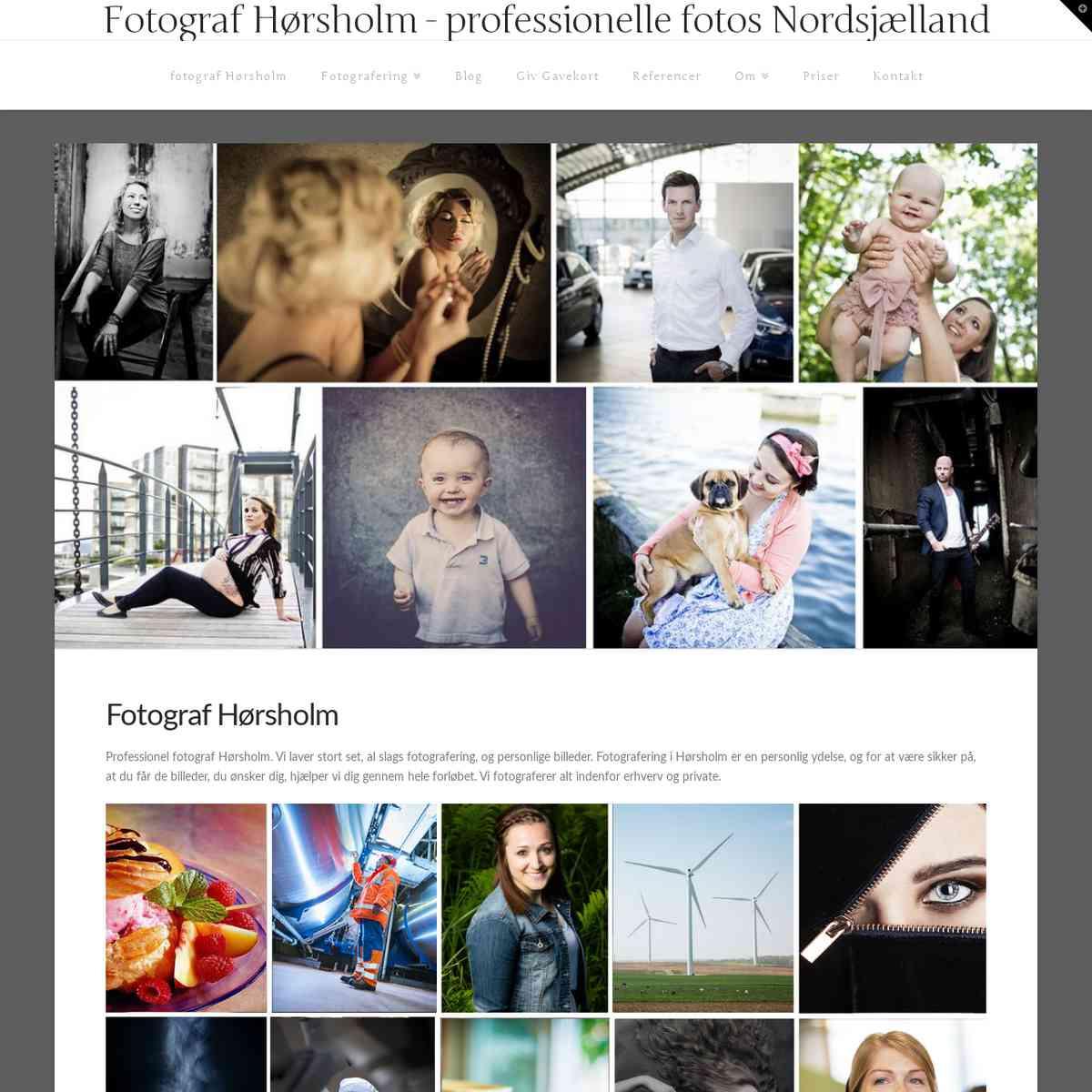 Fotograf Hørsholm