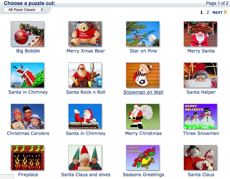 Holidays Christmas Jigsaw Puzzle Gallery - JigZone.com - Christmas ...