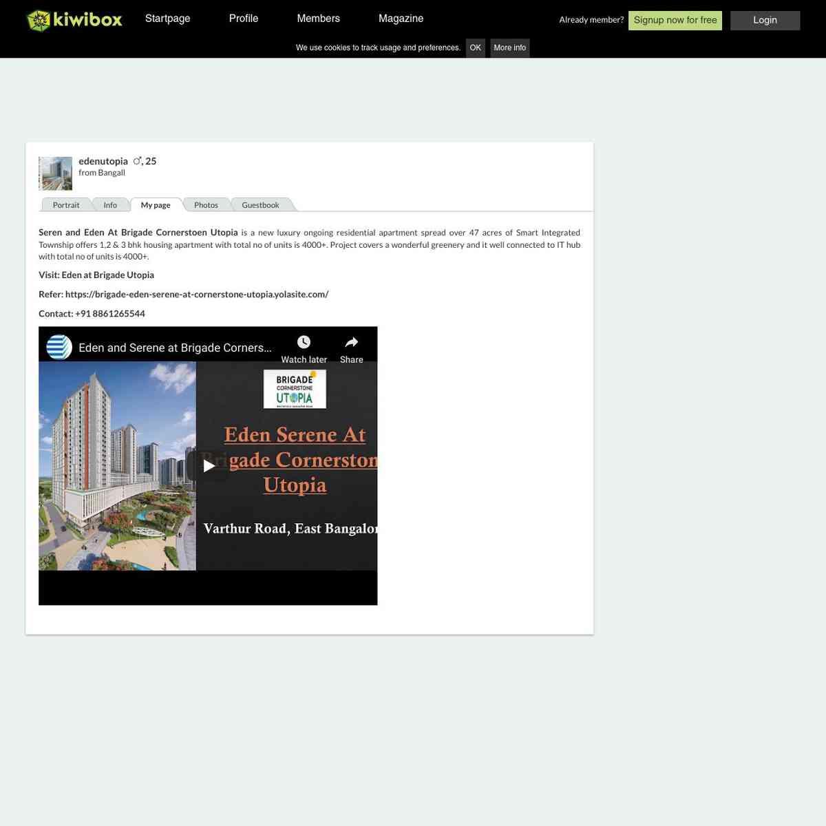 kiwibox.com/edenutopia/mypage/