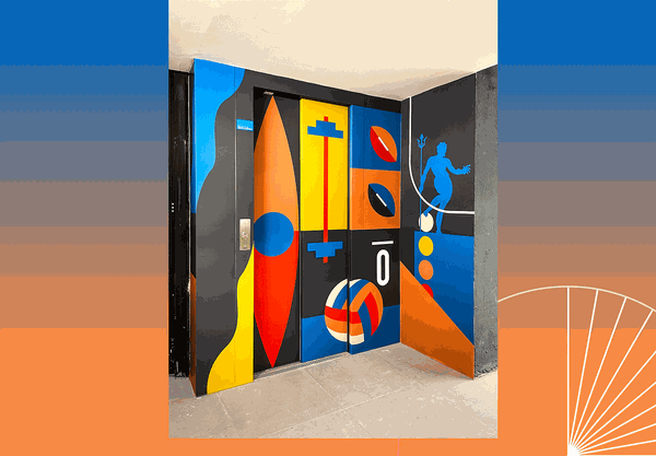 Decathlon   Store mural