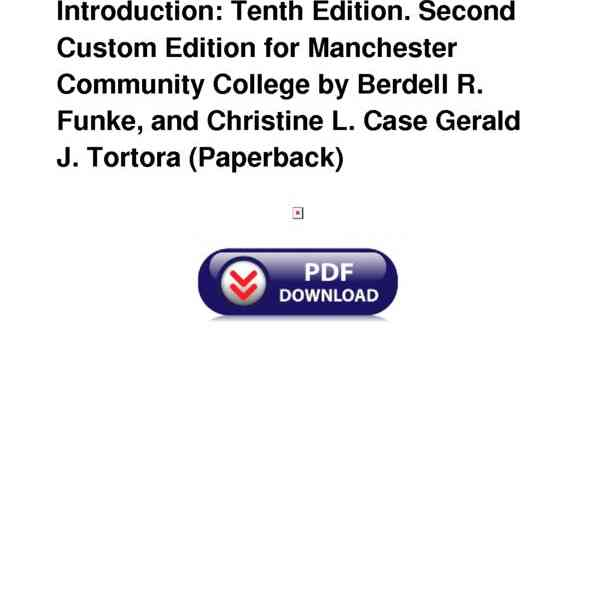 Pdf Microbiology An Introduction Tenth Edition Second Custom