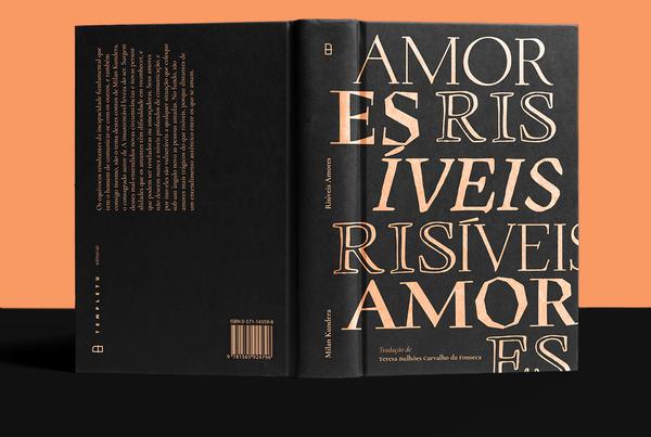 Risíveis Amores   Book cover