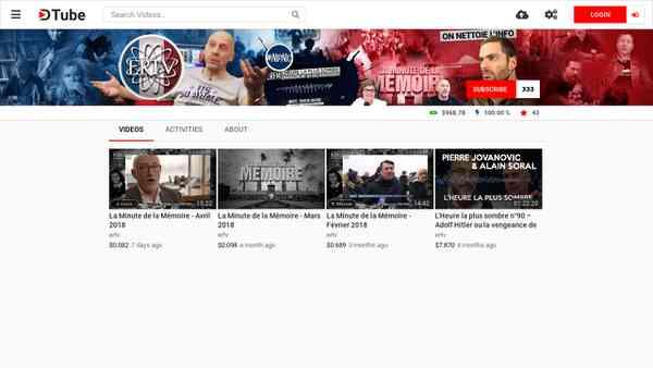 ertv's channel - DTube