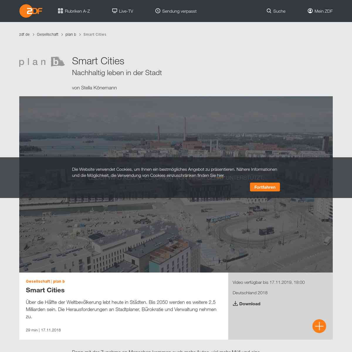 Smart Cities - ZDFmediathek