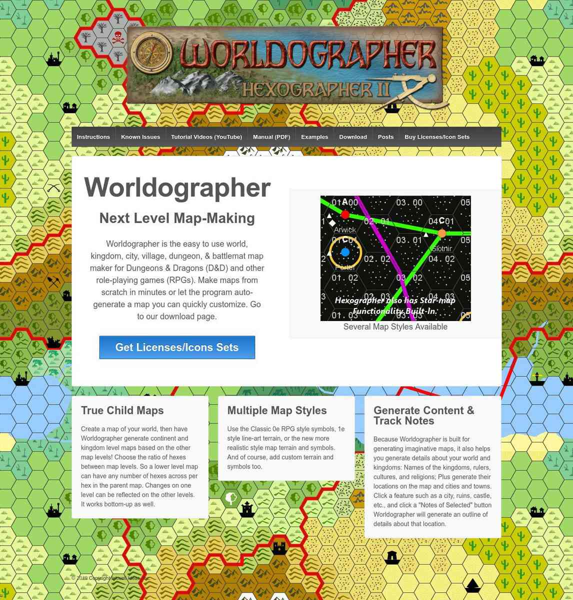 $$$ Mapper - HexographerII - Worldographer