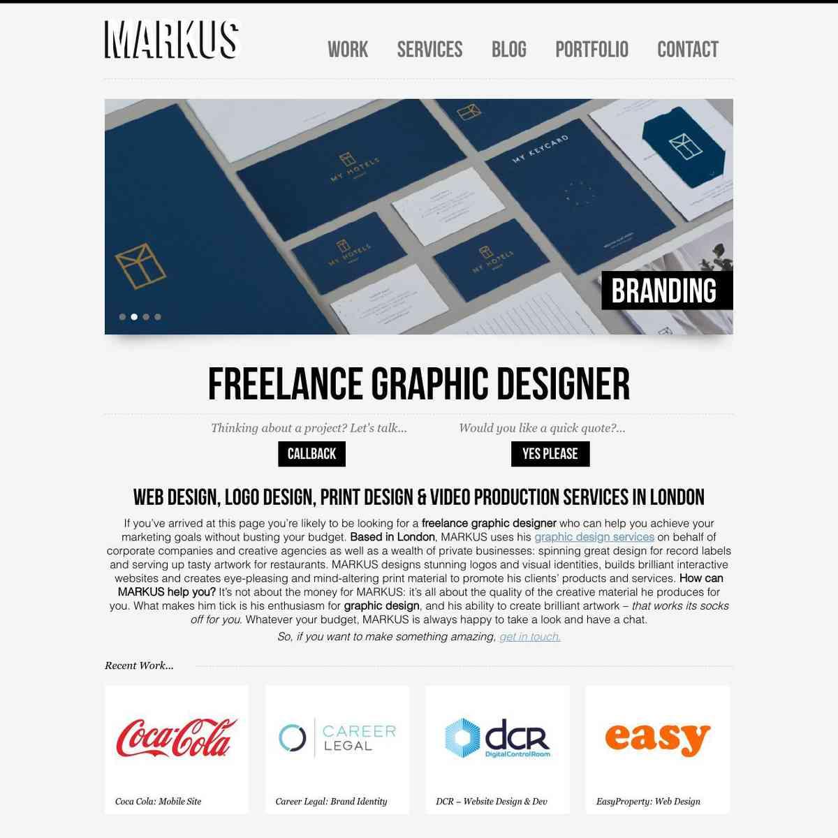 Freelance Graphic Designer London