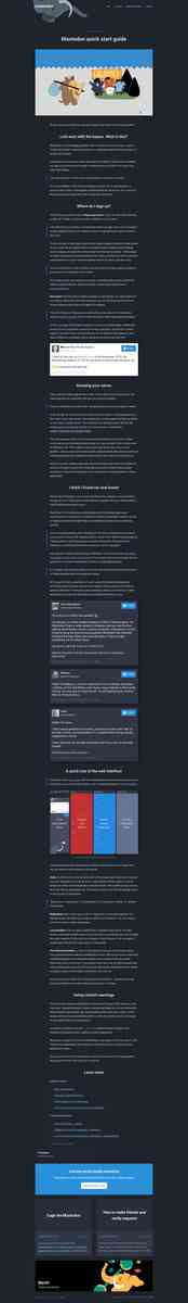 Mastodon quick start guide - Official Mastodon Blog