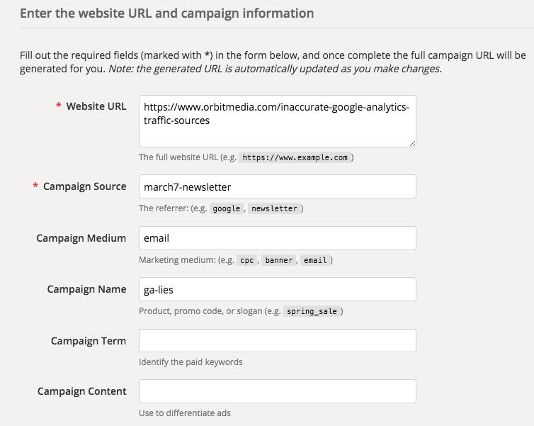 Google URL Builder: How to Track Campaigns in Analytics | Orbit Media Studios