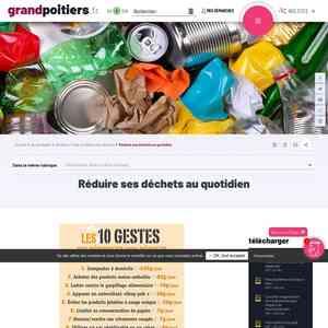 Tester le chatbot pour Réduire ses déchets au quotidien sur grandpoitiers.fr