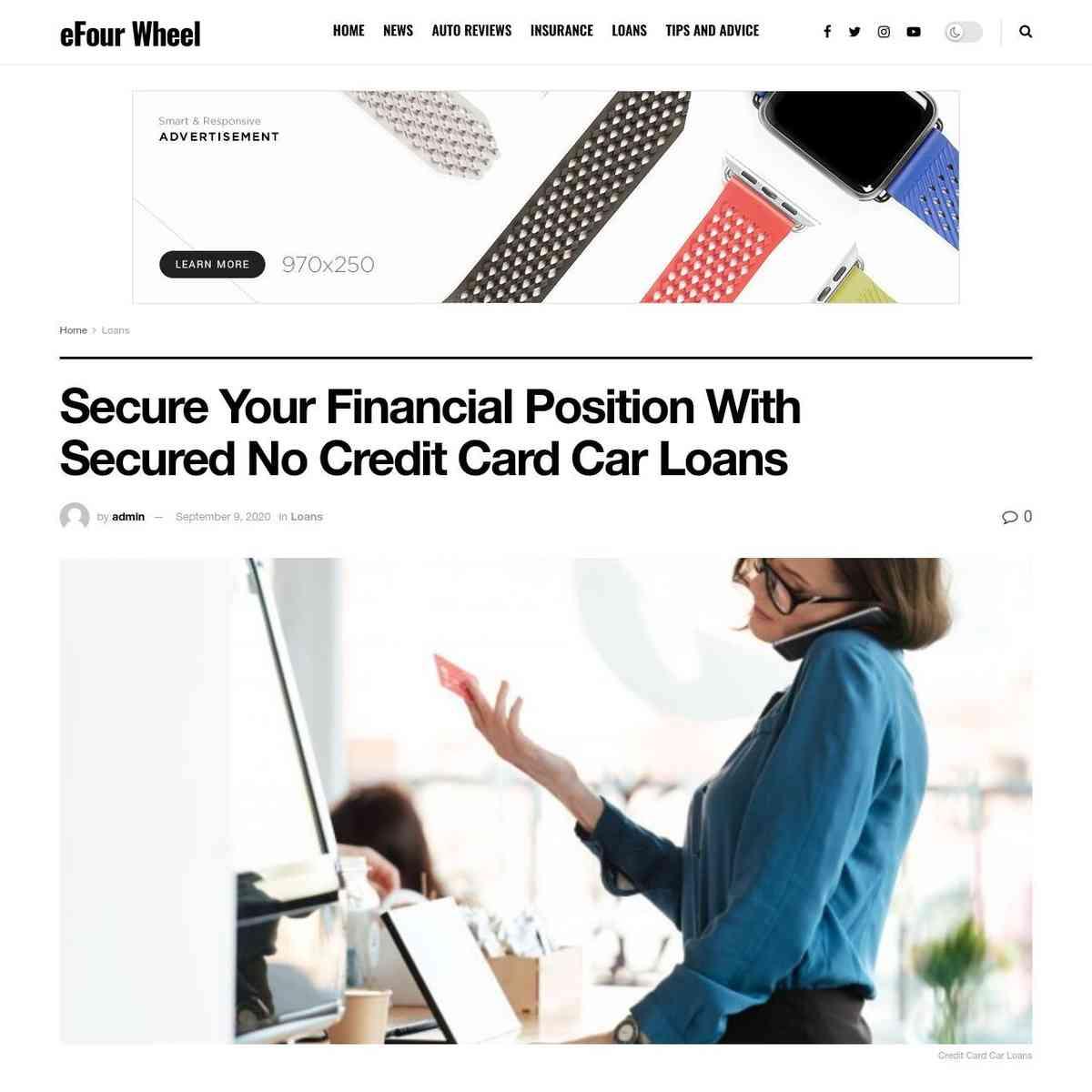 efourwheel.com/credit-card-car-loans/