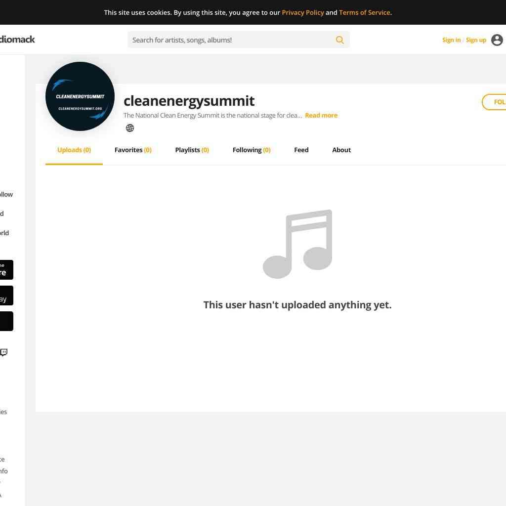 Cleanenergysummit on audiomack