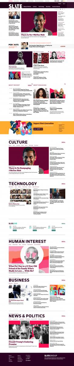 Slate Magazine - Politics, Business, Technology, and the Arts