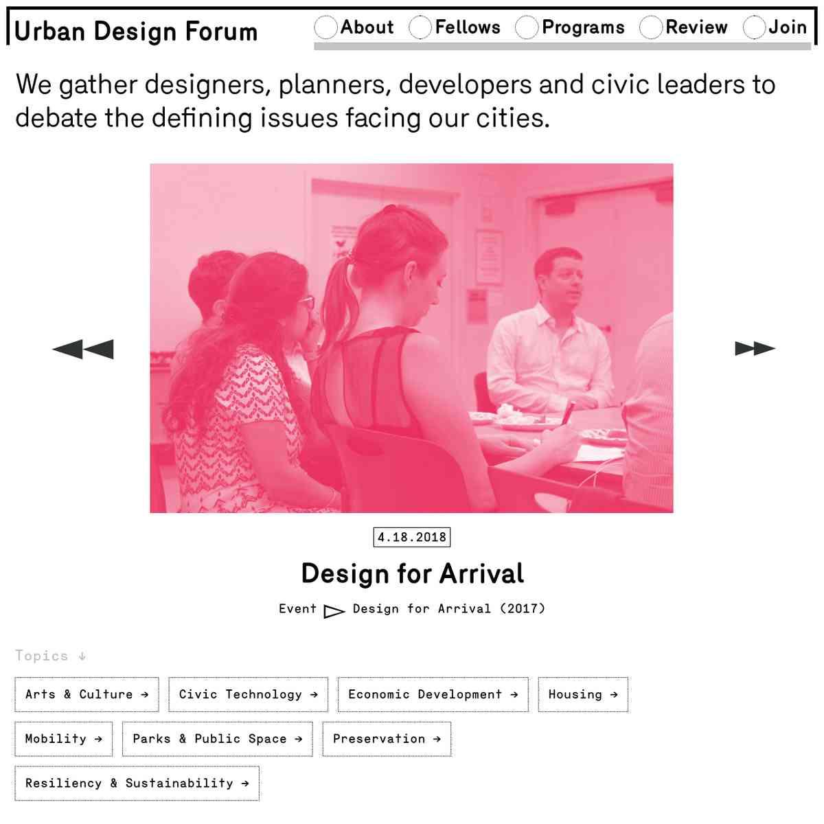 Urban Design Forum