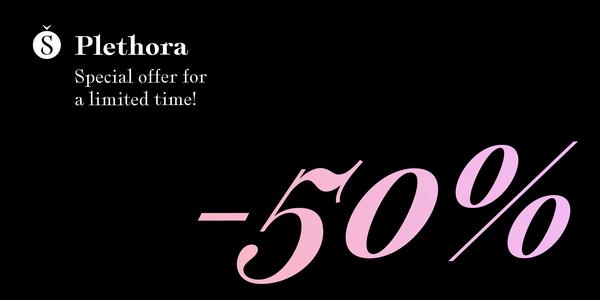 Plethora Typeface | Sale