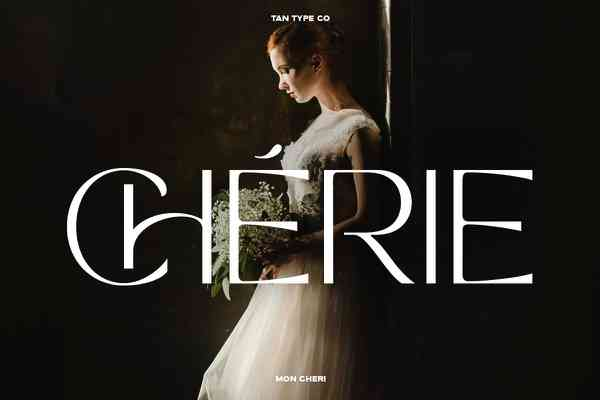 MON CHERI | Stunning Display Fonts