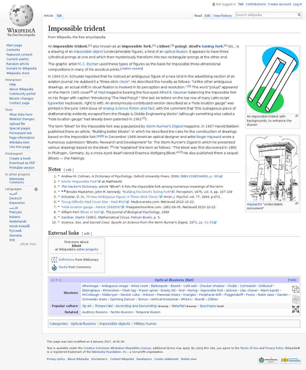Impossible trident - Wikipedia