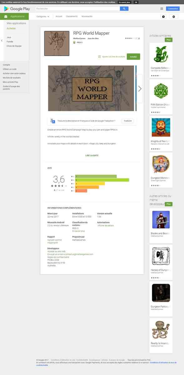 Mapper - RPG World Mapper