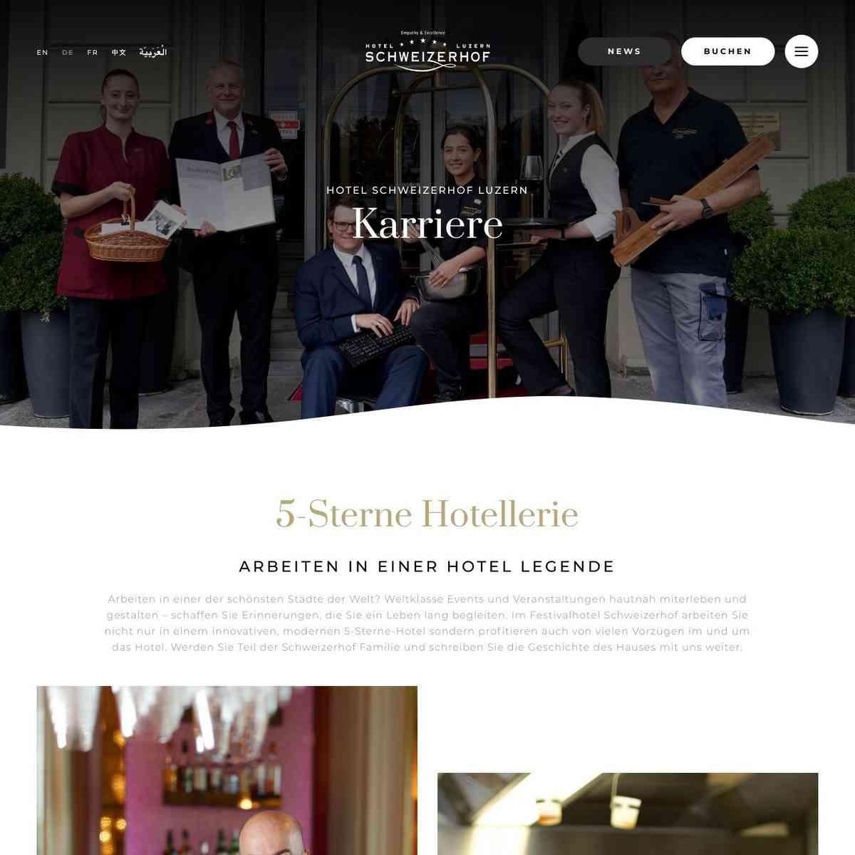 Hotel Jobs Luzern