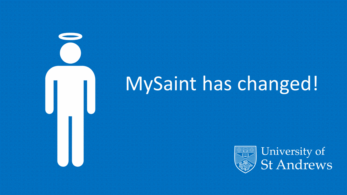 What's new in MySaint?