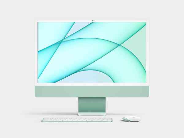 iMac 24-inch (2021) Mockup